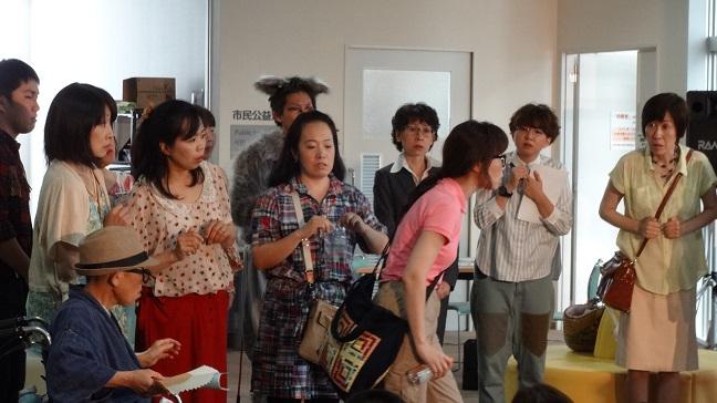 7月7日化け猫一座公演01